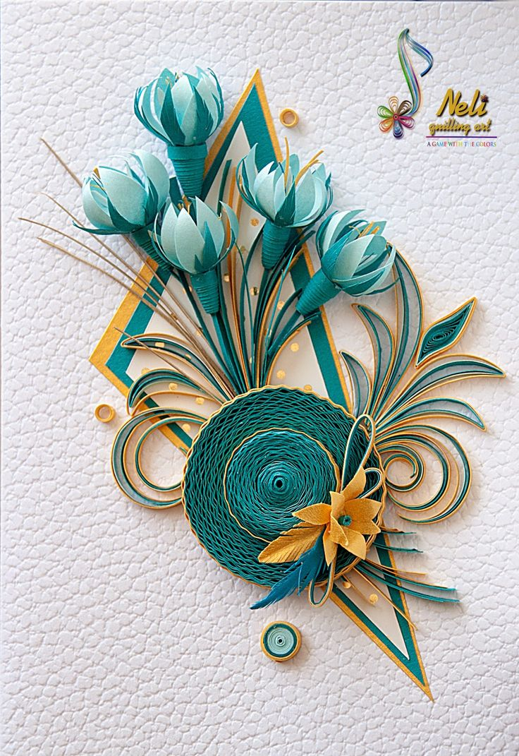1672 best quilling images on pinterest paper quilling for Quilling craft ideas