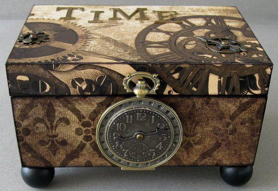 Time Steampunk Decorative Box