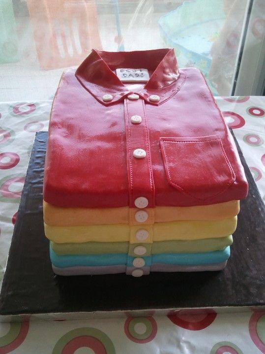 Shirts Rainbow Cake