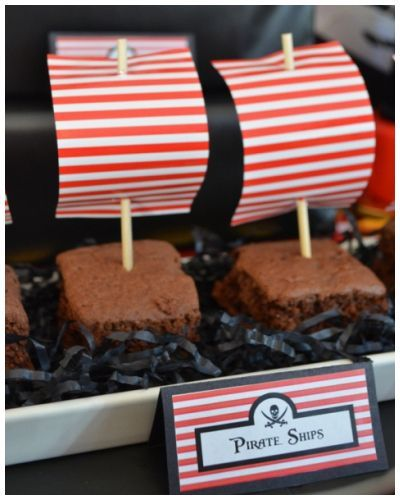 Pirate Party - Pirate Ships Styled by Bespoke Party Plans