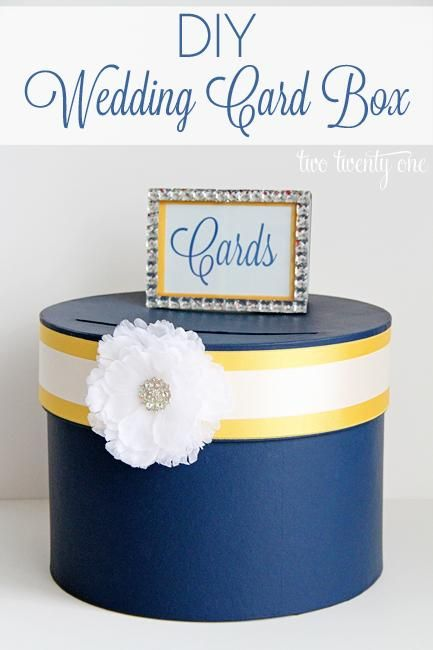 1000 images about DIY Card Box Wedding – Making a Card Box for Wedding