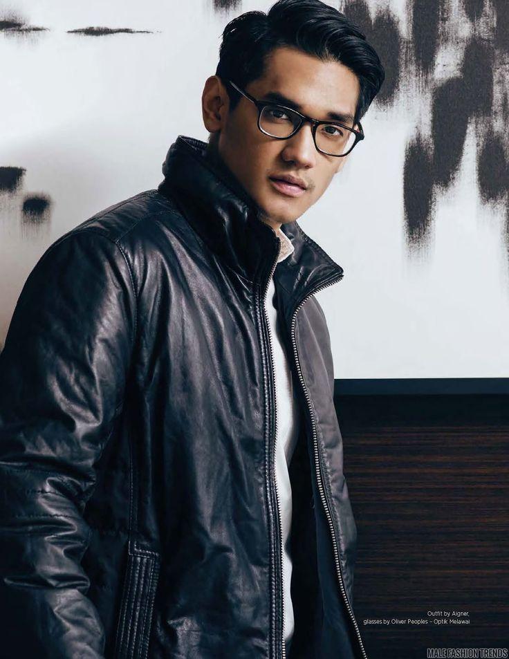 Afgansyah Reza para DAMAN Magazine Diciembre/Enero 2016 por Wong Sim - Male Fashion Trends