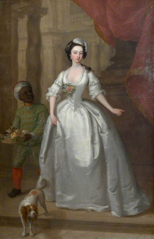 Mary Helden (1726–1766), with Her Black Page