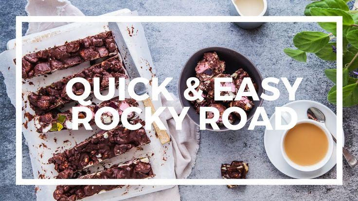 Quick, Simple & Delicious Rocky Road