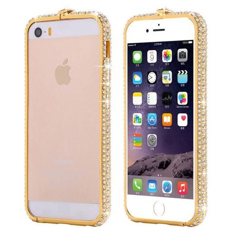 Luxury Bling Rhinestone Crystal Case For Apple iPhone