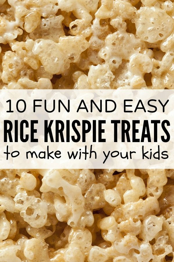 194 best images about kid friendly recipes on pinterest for How do you make rice crispy treats
