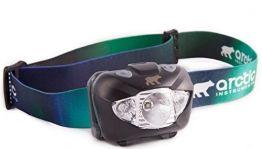AURORA LED Stirnlampe.Super helle CREE LED.Ideal für Wandern, Laufen, Lesen, Gartenarbeit, Camping, Bergsteigen, Radfahren, DIY, Angeln, Jagenund andereAktivitäten im Haus oder draußen -