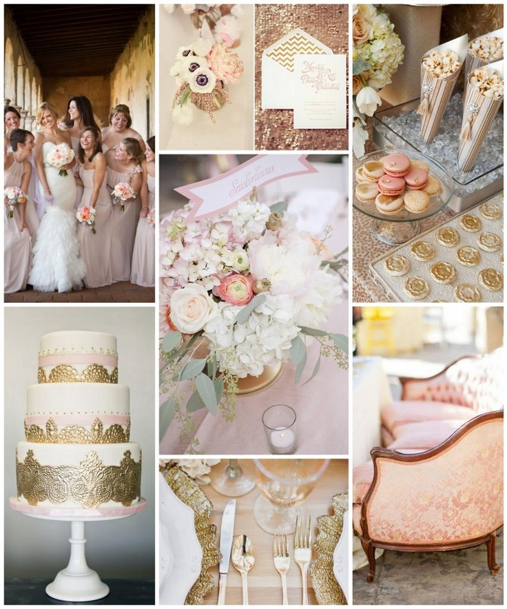 27 Best Images About {Blush Wedding Inspiration} On