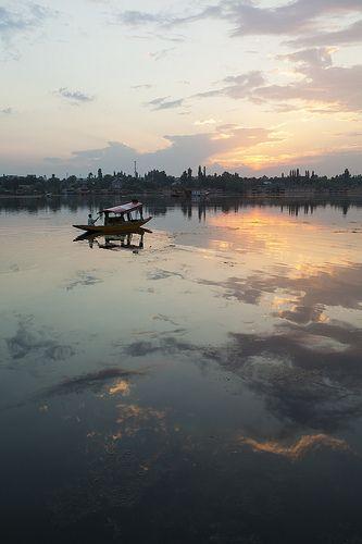 Shikara nagin lake - Srinagar - Kashmir - India - Sylvain Brajeul ©