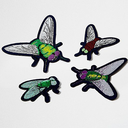 ​Dom Jones Featuring four badges Various bug designs