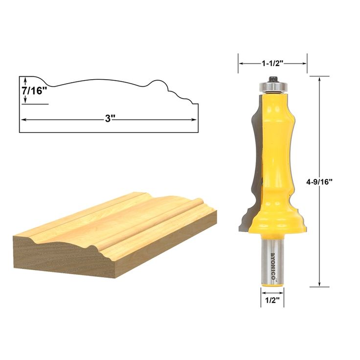 Best 22 Yonico Router Bits Ideas On Pinterest Router