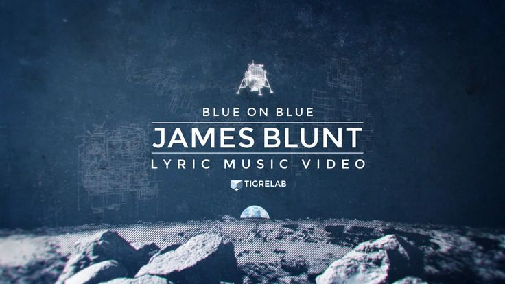 """We developed the lyric video for the James Blunt track """"Blue on blue"""" from his last album Moon Landing.  The main theme is the first person to walk on…"""