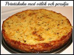 Linda´s Goda: Potatiskaka med vitlök och persilja