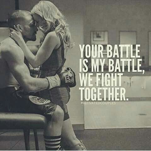 We fight together