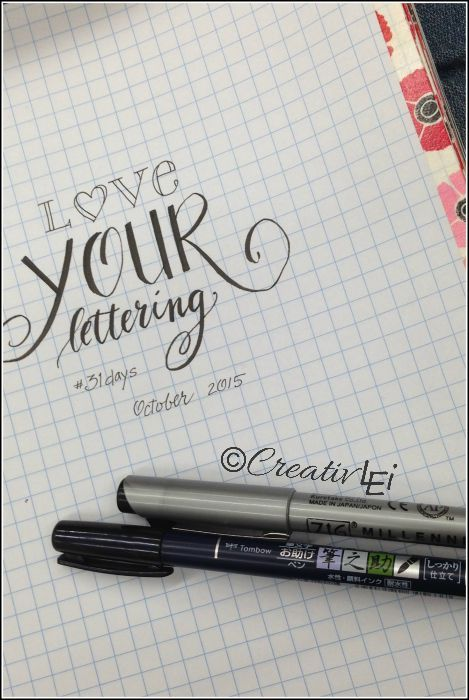 Is Love Your Lettering for Me? - Looking at life CreativLEI