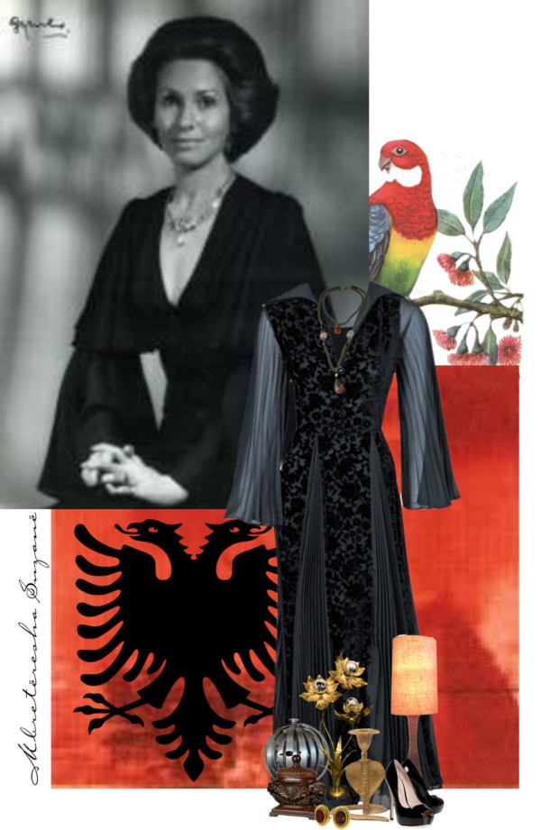 """""""Susan, Crown Princess of Albania"""" by sh0shan ❤ liked on Polyvore"""