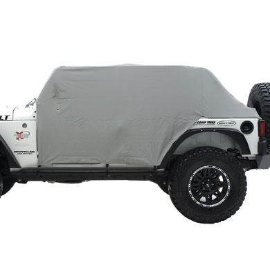 good summer cover for topless and doorless.