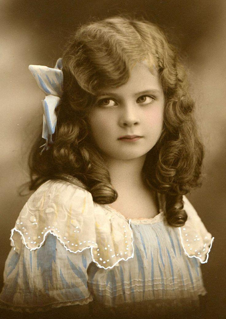 bumble button: vintage photograph