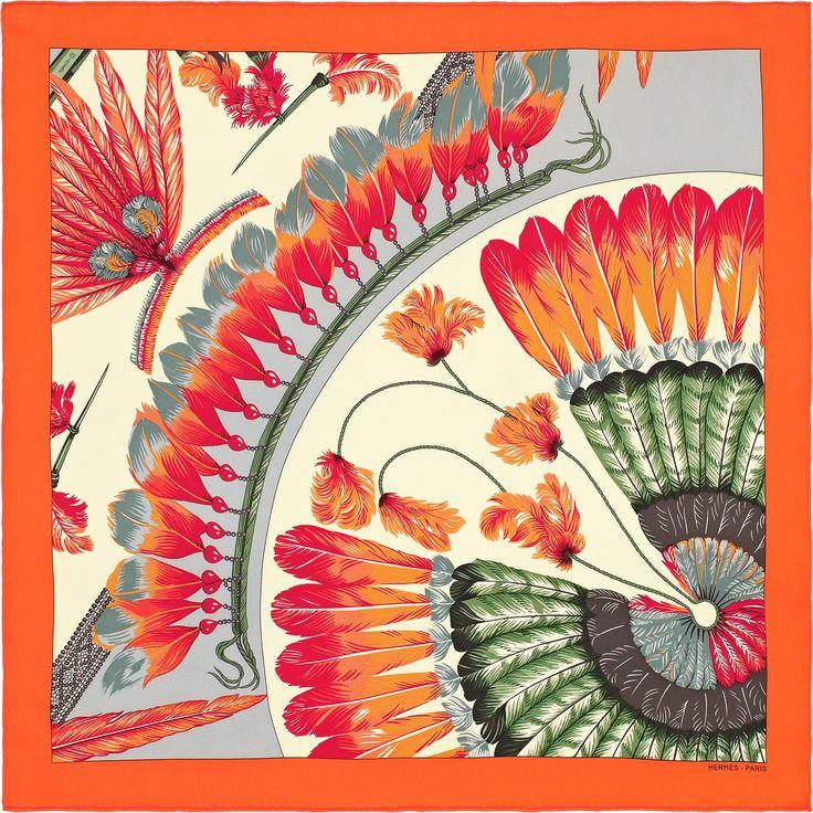 Orange, fushia pour du peps, un bleu ciel doux et des pointes de vert Plus