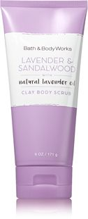 Lavender & Sandalwood Clay Body Scrub - Signature Collection - Bath & Body Works