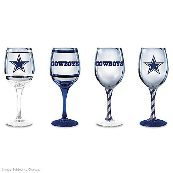 Dallas Cowboys Wine Glass collection