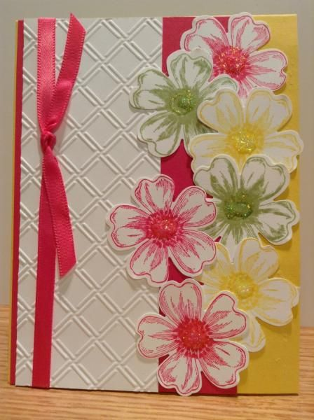 Another Cascade of Flowers by Tracy_Lee - Cards and Paper Crafts at Splitcoaststampers