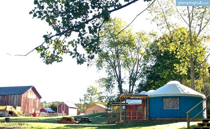 Yurt Glamping in Upstate New York | Luxury Camping upstate New York