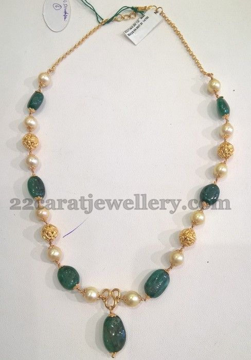 6 to 11 Grams Simple Necklaces | Jewellery Designs