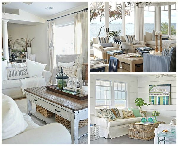 How to Create Non Seasonal Beach Cottage Chic Decor