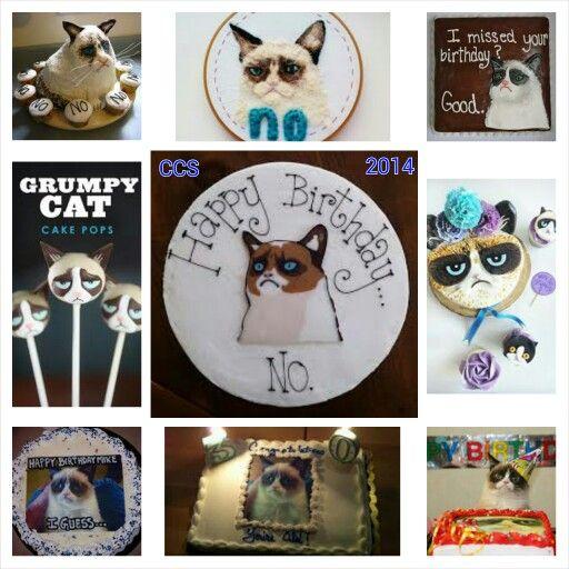Grumpy Cat Birthday Cakes