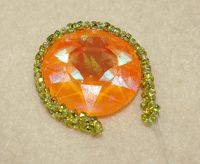 Make a Cabochon Bezel with Right-Angle Weave - Beading Instructions - Beading Daily