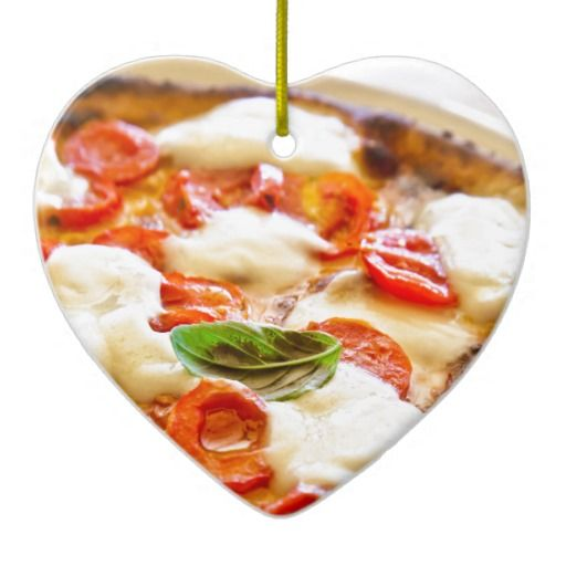 Pizza Margherita Ornaments - $14.95