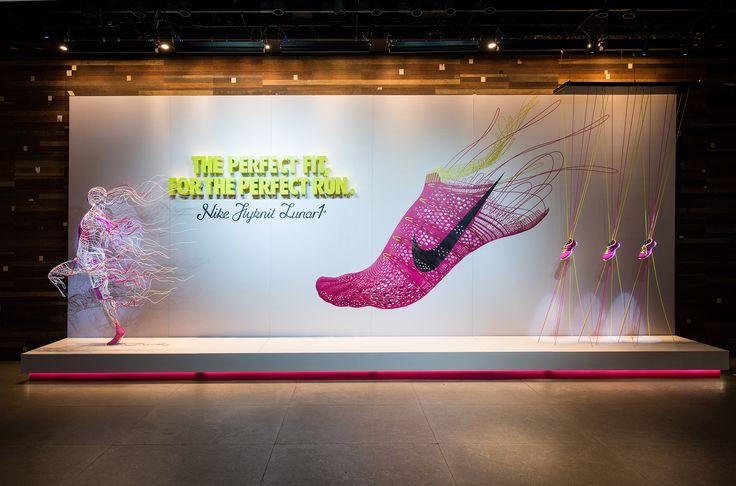Nike | Flyknit by Millington Associates | Winner of VM & Display Award, 2013…