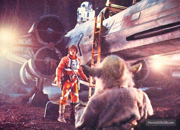 Star Wars: Episode V - The Empire Strikes Back publicity still of Mark Hamill & Kenny Baker