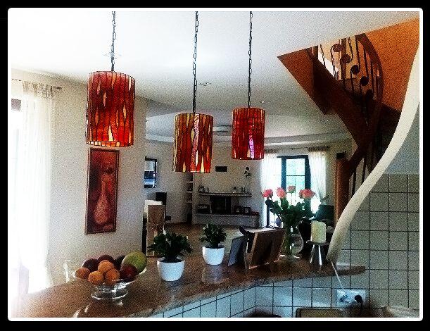lampy Tiffany - rura #glassatelier , #tiffany , #lampy , #lampa , #stainedglass