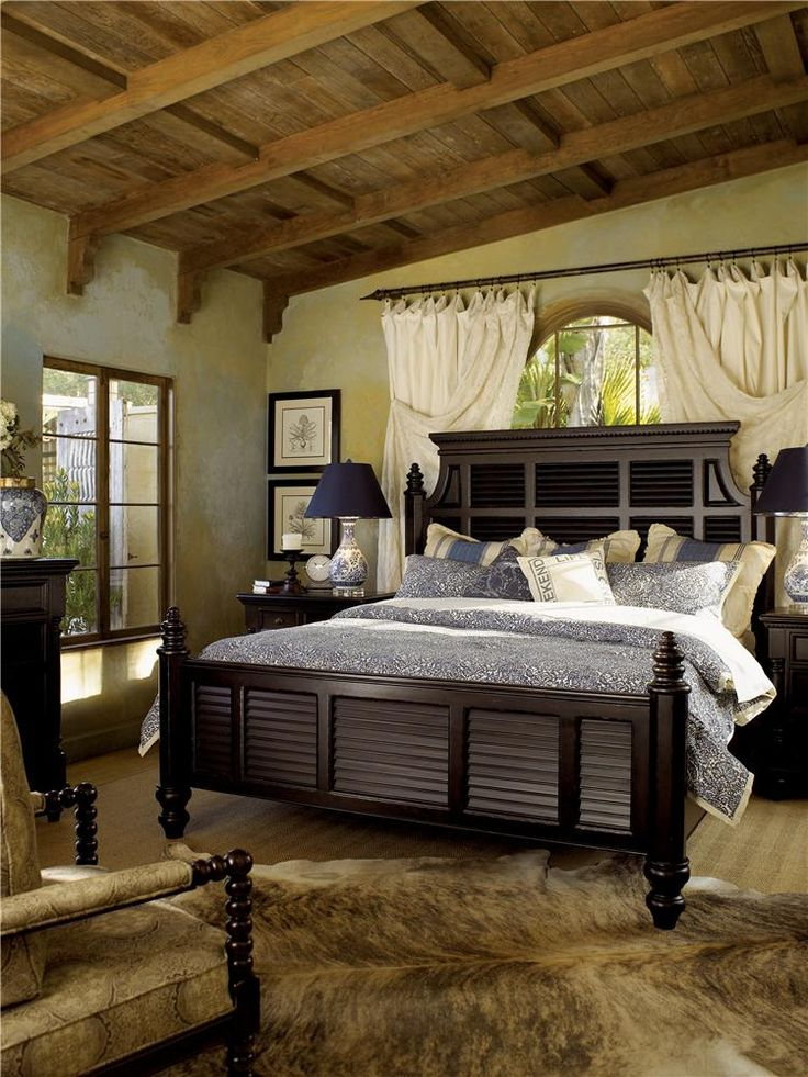 Kingstown QueenSize Malabar Panel Bed with Shutter