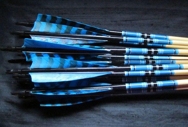 Traditional arrows, wood arrows, cedar arrows, Sitka spruce arrows, Glenn St Charles, Suzanne St Charles