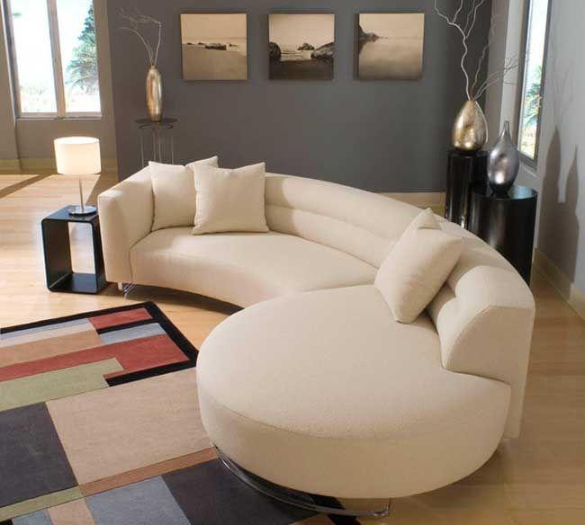 Great Modern Sofa...Calutta By Lazar Ind..... Steel Sled