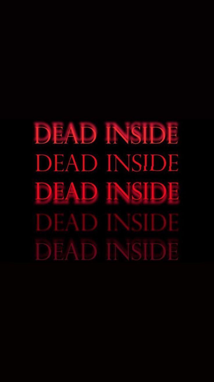 Muerto En El Interior Wallpaper Quotes Emo Wallpaper Dark Wallpaper