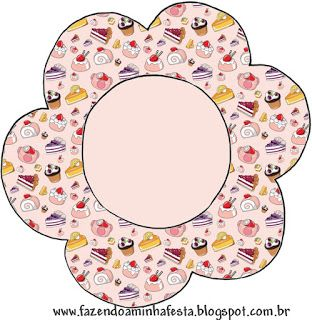 Cupcake Themed Party: Free Printable Cupcake Wrappers and Toppers.