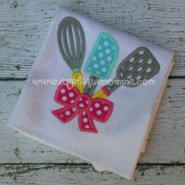 213 best applique towels images on pinterest dish towels - Free embroidery designs for kitchen towels ...