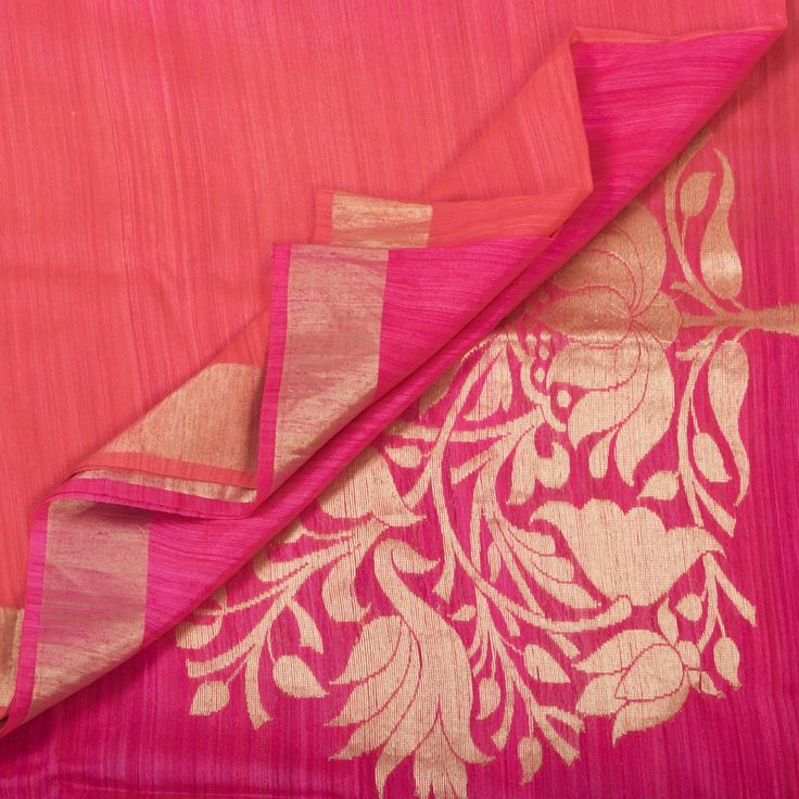 Shivangi Kasliwal Handwoven Banarasi Dupion Silk Sari 1005754 - Saris / Banarasi - Parisera