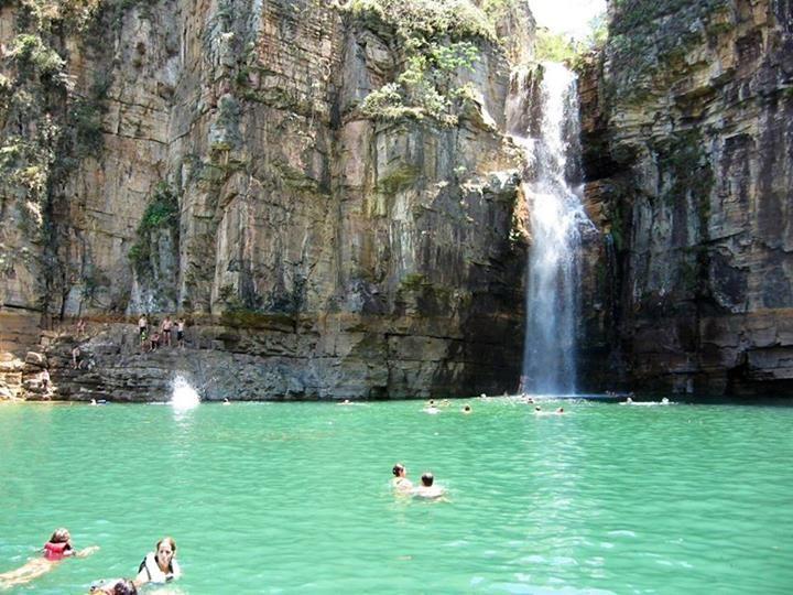 Cachoeira da Lagoa Azul - Capitólio - Minas Gerais - Brasil
