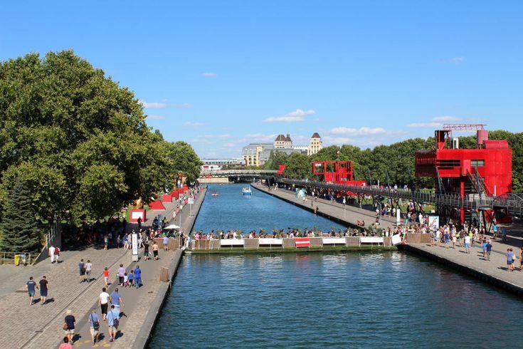 Le canal de l'Ourcq alimente en eau les canaux parisiens à partir de l'Ourcq et de la Beuvronne