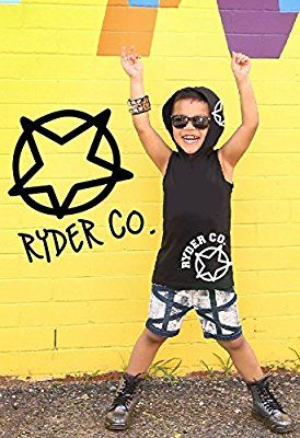 Ryder Co • Baby Boys' Clothes Hoodie T Shirt Tops • Freshman Style • Black Sleeveless • Sizes 00,0,1,2,3,4,5,6 (00): Amazon.com.au: Fashion