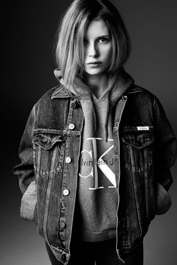 Following in big sister Kate's footsteps, the 16 year-old stars in her first campaign. See all the details here.