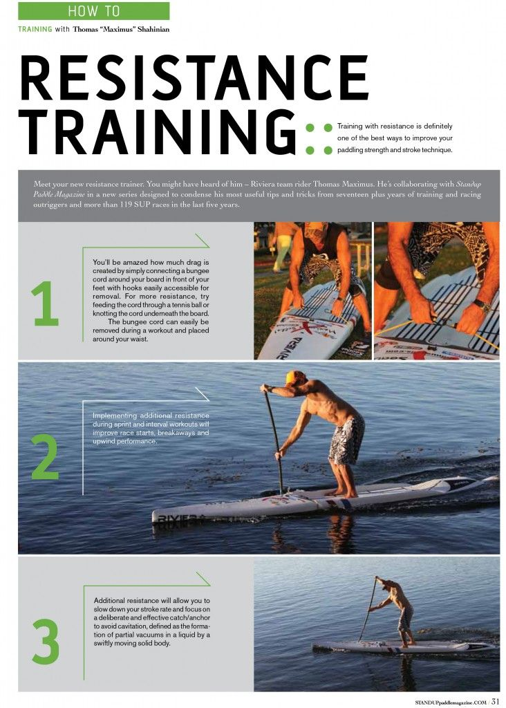 """Here's the the first of a Series of """"Training Tips with Thomas Maximus"""" in the most recent edition of Standup Paddle Magazine (www.standuppaddlemagazine.com) currently at Book Stores, News stands and Paddle Shops. Thomas uses SeaDek SUP traction pads on his boards. SeaDek is made in the USA and provides the best non-skid characteristics in the industry. SeaDek's entire line is available for purchase online: http://www.seadek.com/c-96-stand-up-paddleboard-pads.aspx"""