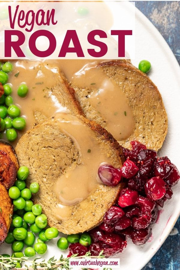 A simple, easy, rustic and hearty Vegan Roast that's sliceable, ultra tender and…