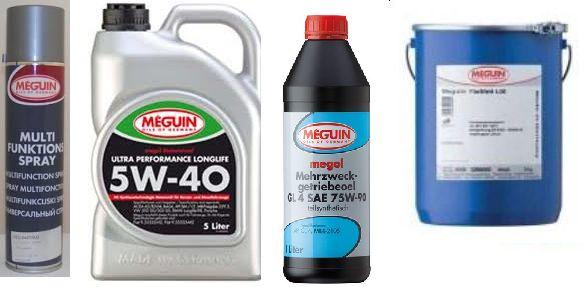 Meguin termékek