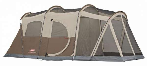 Coleman WeatherMaster 6 Person Screened Tent Review – Comfort & Space #camping, #tents, #familycampingtents, #outdoors, #familytents